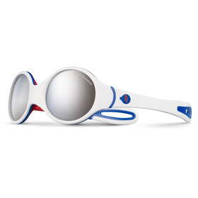 Julbo Baby 2-4Y Loop Spectron 4 Sunglasses White/Blue/Red-Gray Flash Silver